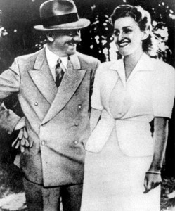 Adolf Hitler and Eva Braun, 1943, kept their affair hidden for many years, but new images collated by Life magazine shed fresh light on their final moments