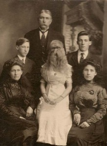 Alice with family