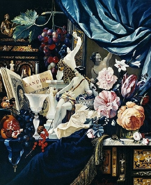 Rococo painter Vladimir Hozatski