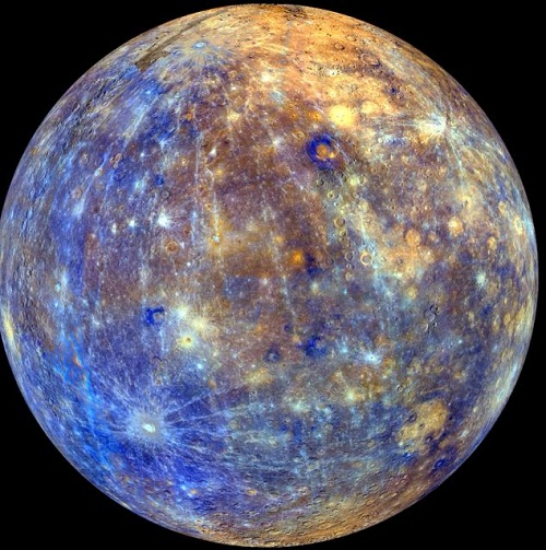 Colors of Mercury