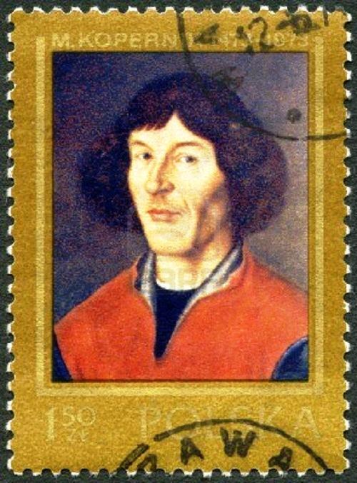 Copernicus, 1973 stamp