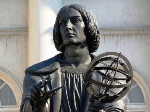 Copernicus memorial in Warsaw