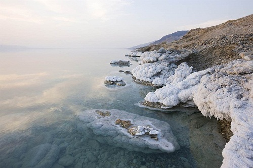 Dead Sea, Jordan. deserts by George Steinmetz