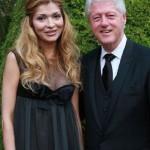 Gulnara Karimova and Bill Clinton, Cannes film festival, 2009