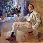 Konstantin Korovin. Portrait of Fyodor Ivanovich Shalyapin. 1911