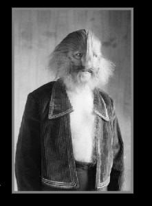 Lionel Bilrouki, the Lion-Faced Man, 21 Mar 1923, Manhattan, New York