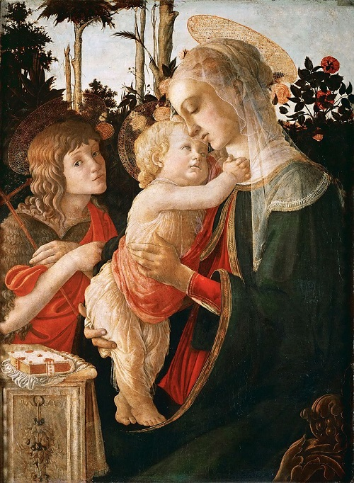 Madonna and Child with St. John the Baptist, c. 1470–1475, Louvre