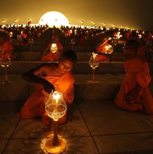 Buddhist Full moon festival