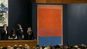 Royal Red and Blue by Mark Rothko at auction