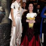 Spanish operatic soprano Monserate Kabalie and Gulnara Karimova