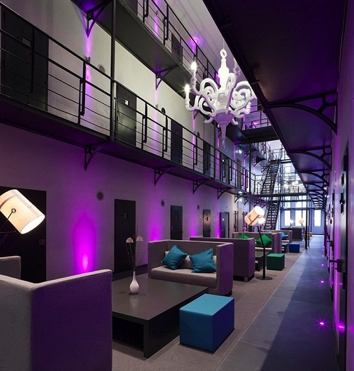 Het Arresthuis prison as a luxury hotel