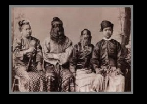 The Sacred Hairy Family of Burma