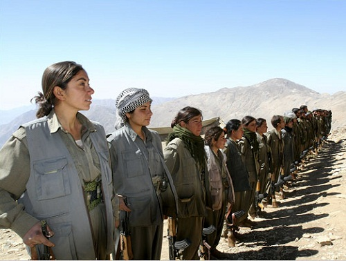 Kurdish female battalion