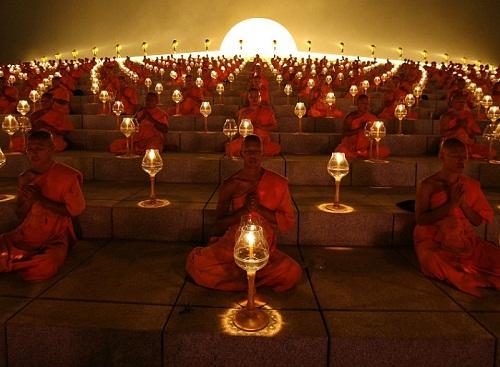 Buddhist Full moon festival