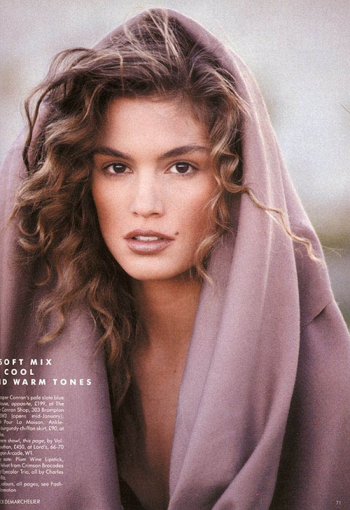 Three loves of Cindy Crawford