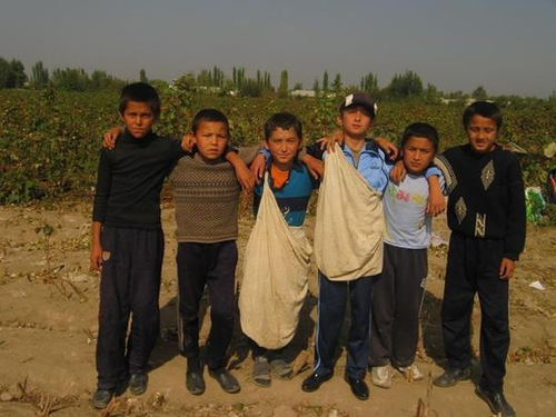 Gulnara Karimova and child labor in cotton plantations