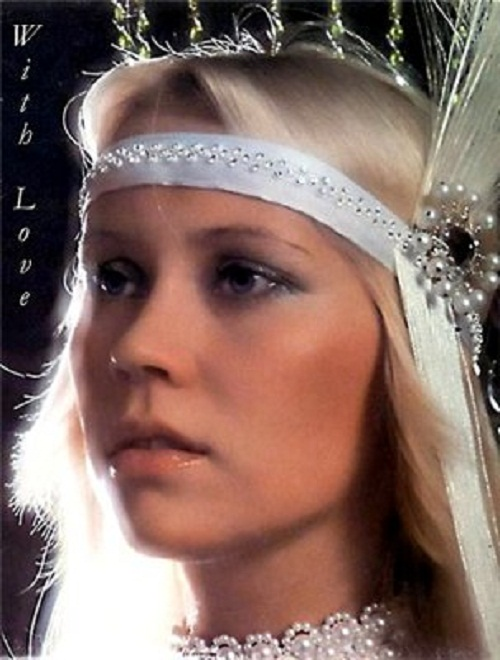 Agnetha Faltskog of ABBA is back