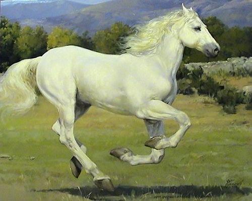 Beautiful painting by Belarusian artist Yuri Yarosh