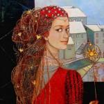 Beautiful paintings by the Ukrainian artist Anastasia Sahaltueva