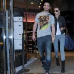 Maryna Linchuk's boyfriend Sal Morale also looks stylish