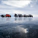 Beautiful nature of Siberia-world deepest lake Baikal