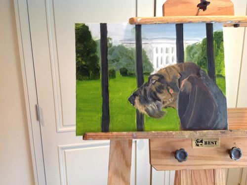 Paintings by former president George W. Bush
