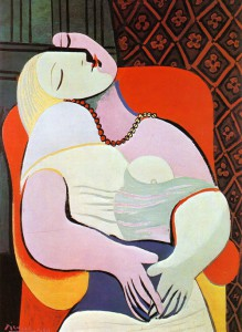 """The dream"" by Pablo Picasso"