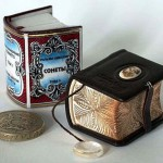 Miniature books by Guinness Record artist Anatoly Konenko