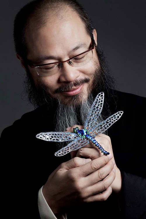 Wallace Chan famous jewelry designer from Asia