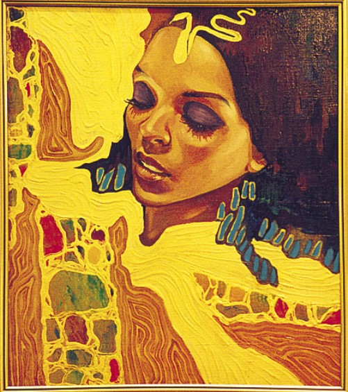 Sunny Egyptian paintings by Russian artist Fattah Hallah Abdel