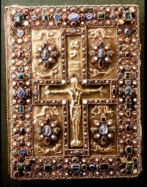 The Lindau Gospel Book Cover