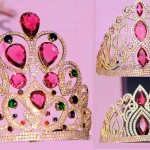 The crowns of Miss India winners