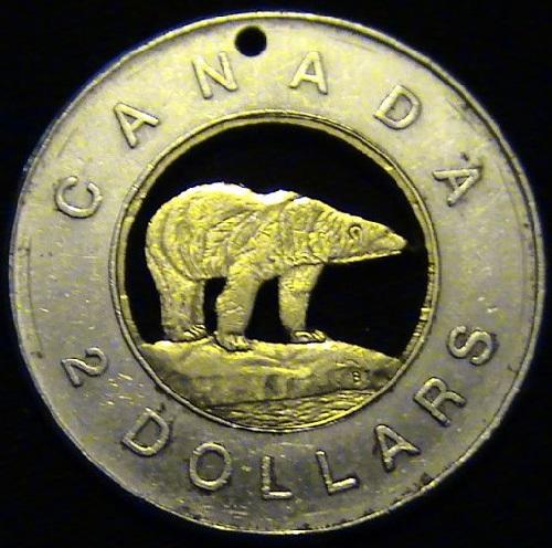 2 Dollar Coin – Canada, 1996
