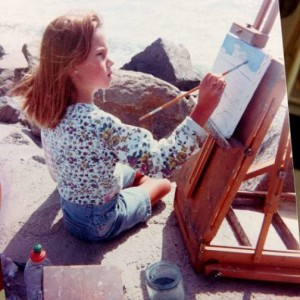 Charmaine Olivia has been painting since the age of 8