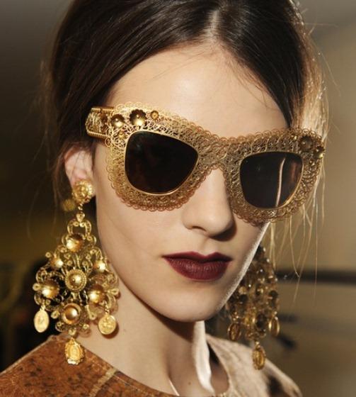 9fe82047e8a1 Dolce   Gabbana Fall   Winter 2014 jewellery. Mosaic collection Dolce  Gabbana