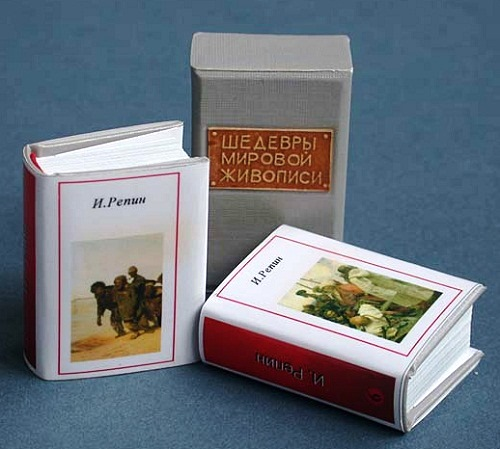 The miniature book World Masterpieces of Art