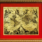 The map of ancient world