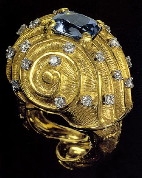 Jewelry art by Salvador Dali