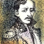 The miniature book of poems by Mikhail Lermontov