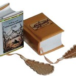 The miniature book by Anatoly Konenko 'A Hero of Our Time', a novel by Mikhail Lermontov, written in 1839