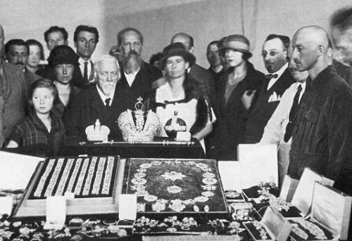 Goskhran. Imperial jewels. 1923