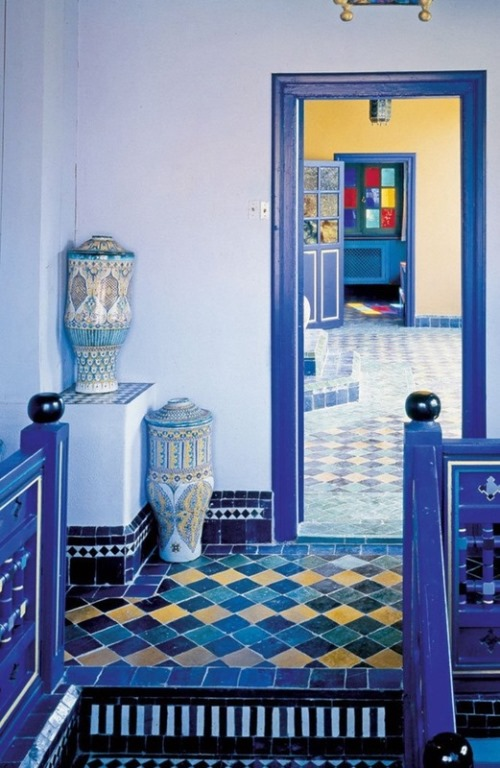 Yves Saint Laurent's palace in Morocco