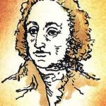 Johann Wolfgang von Goethe, illustration from the miniature book by Anatoly Konenko