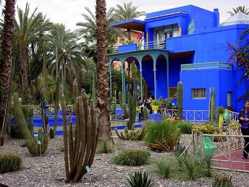 Marrakech taught me color. Yves Saint Laurent