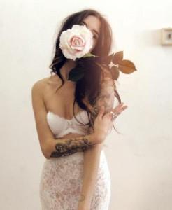 Beautiful artist Charmaine Olivia