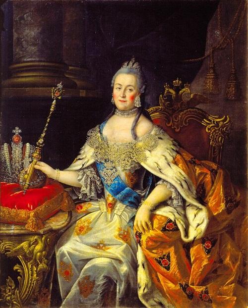 Ivan Petrovich Argunov Portrait of Catherine II