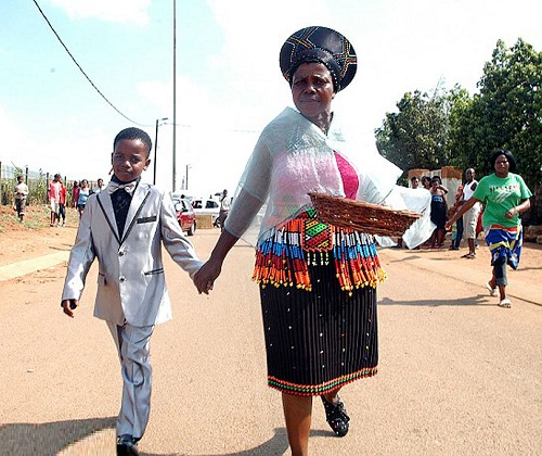 8-year-old Sanel Masilela married 61-year-old Helen Shabangu