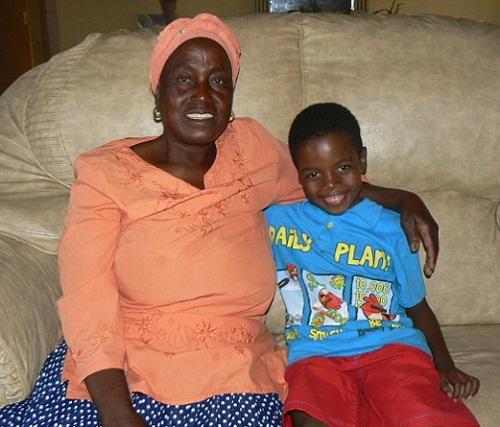 8-year-old Sanel Masilela married 61-year-old Helen Shabangu