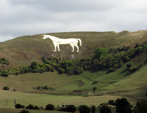 Chalk figures in England