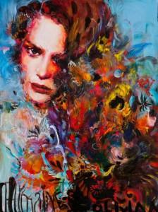 Beautiful paintings by beautiful artist Charmaine Olivia